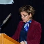 Η Αρχιτέκτων Μηχανικός και Αναστηλώτρια κα. Μαρία Μαγνήσαλη