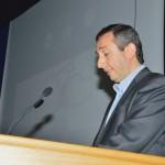 Ο εκπαιδευτικός κ. Νικόλαος Πετρόπουλος συντονιστής της πρώτης ημέρας του Συνεδρίου
