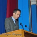 Ο Πρόεδρος του Ιεραποστολικού Συλλόγου «ΠΑΝΑΓΙΑ ΤΗΣ ΜΥΡΤΙΑΣ» κ. Λεωνίδας Γαρουφαλής
