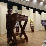 Η εκπρόσωπος της Προέδρου του Συλλόγου Κίνησης Γυναικών και Φίλων του Δρυμώνα Τριχωνίδος