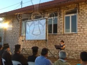 Η κεντρική ομιλήτρια κα. Μαρία Κρητικού